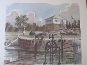 THE RIDEAU CANAL STORY PRINTS Cornwall Ontario image 3