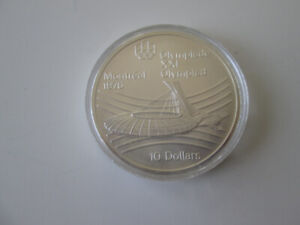 1976 MONTREAL OLYMPIC 10 DOLLAR COIN UNCIRCULATED MINT CONDITION