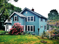 Cedar siding, rot repair, small decks and renovations