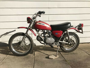 1971 Honda SL70K0 in original un-restored condition