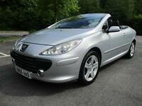 Peugeot 307 CC SE Coupe Cabriolet HDi DIESEL MANUAL 2006/06