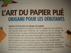 2 coffrets d'origami  + Tout faire avec du papier City of Montréal Greater Montréal image 3