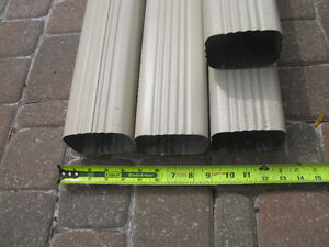 3 in. x 4 in. x 10 ft ALUMINUM DOWNSPOUTS Kitchener / Waterloo Kitchener Area image 2