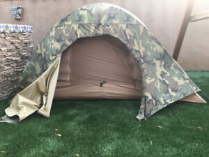 USMC Combat Tent - Great For Backpacking! - New