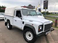 63 Land Rover 110 Defender 2.2I D DPF High Capcity Pick Up 4x4