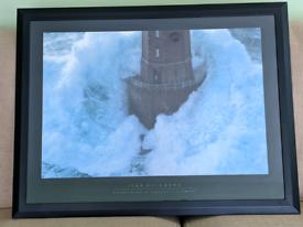 Phare de La Jument - The Lighthouse Keeper Framed art print / picture