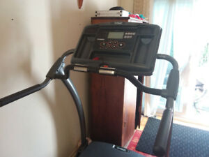 Foldable Smooth Fitness treadmill $800