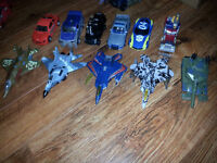 Large lot of Deluxe movie Transformers