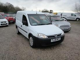 2008 Vauxhall Combo 1.3 CDTi 2000 Van. Only 89,000 miles. 2 owners. FSH. NO VAT