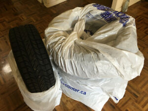"""BF GOODRICH SLALOM WINTER TIRES 16"""" - TIRES ONLY"""