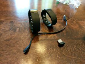 Pair of FitBits. Dongle and reciever.
