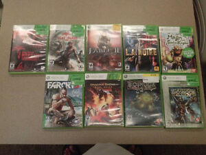 selling XBOX 360 games for $10 each