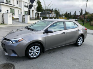 2016 Toyota Corolla LE Only 23450 Km