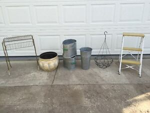 Plant Stand & Buckets...