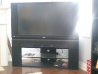 """50"""" TV with Stand."""