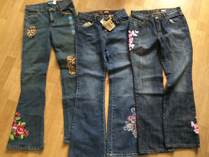 New  girl's size 14 pants and jeans