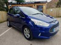 2015 FORD B-MAX 1.6TDCi ( 95ps ) ZETEC IN BLUE