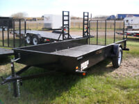 "New Single Axle Canadian Made ""Rainbow"" Utility Trailers Red Deer Alberta Preview"