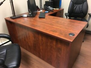 """L"" Shaped Office Desk"