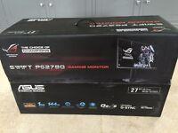 Asus rog swift pg278q 144hz 1440p 27inch gaming monitor