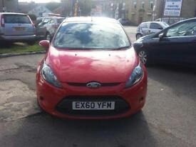 Ford Fiesta 1.6TDCi ( 95ps ) DPF Econetic 5 DOOR - 2010 60-REG - 10 MONTHS MOT
