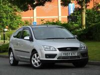 Ford Focus 2007 3 door SPORT 1.6 PETROL.. CAMBELT DONE + SATNAV + DVD