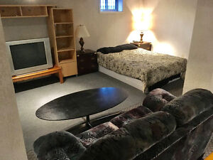 Basement suite available for JUNE&JULY ONLY in ST.James