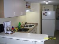 Furnished room for Oct 31 at Bathurst & Finch (monthly)