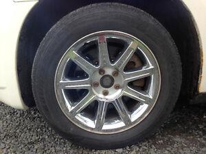 Mags de Chrysler 300 et pneus performant