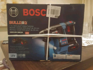 18V EC Brushless SDS-plus Bulldog™ 1 In. Rotary Hammer drill Kit