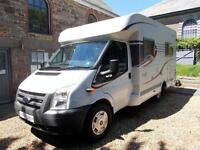 Hymer Carado T135 Fixed Rear Bed with Garage, 2/3 Berth Motorhome