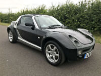 2003 53 SMART ROADSTER AUTOMATIC COUPE 0.7 SILVER