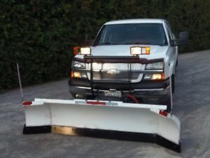 2004 Chevrolet Silverado 1500 Pickup Truck with snow plow