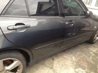 Lexus is200 grey 1c6 any door complete £59 no damage 98-05 breaking spares is 200 is300