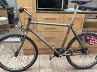"Specalized Hardrock Hybrid Road Bike. 21"" Frame. Road Wheel. Lightweight"