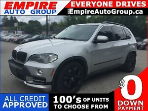 2009 BMW X5 XDRIVE48I * AWD * LEATHER * SUNROOF * REAR CAM * NAV London Ontario image 1