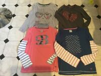 Girls next & crew clothing tops bundle x4 age 10 & 11 good condition £5