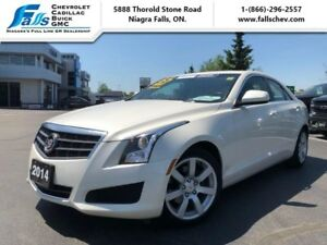 "2014 Cadillac ATS RWD  17""ALLOYS,WHITE DIAMOND,2.5L"