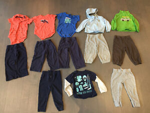 Baby boy 24 month clothes - carters & childrens place