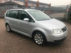 VOLKSWAGEN TOURAN 2.0 TDI DSG 7SEATER•HEATED LEATHERS•DRIVES SUPERB***