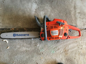 Husqvarna Rancher 455 chainsaw