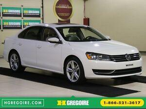 2012 Volkswagen Passat 2.5L  Comfortline AUTO CUIR TOIT MAGS BLU