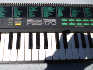 YAMAHA Piano   voice bank PSS-170