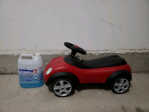 Mini car for baby or toddler