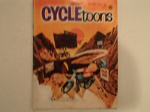 Pedersen's CYCLETOONS Number 5 October 1968. GC RARE.