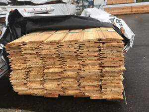"Western Red Cedar - Channel Board 1x6""-10"" STK KD"