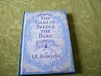 "J. K. Rowling's ""The Tales of Beedle the Bard"" Book"
