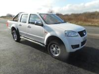 GREAT WALL STEED 4X4 DOUBLE CAB PICK UP DIESEL MANUAL 4 DOOR