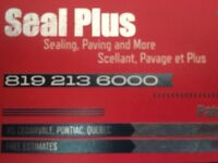 SEAL PLUS - ASPHALT, SEALING, LINE PAINTING, ETC