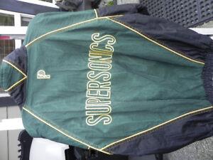 Seattle Supersonics NBA vintage jacket Large